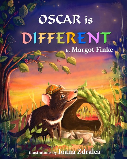 """Oscar is Different"" Children Book"