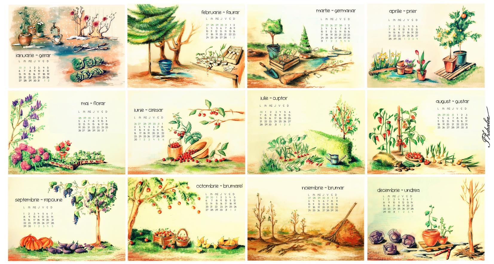 Gardening calendar 2014 ioana d 39 artioana d 39 art for Garden design fest 2014